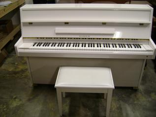 Used Samick Console piano white